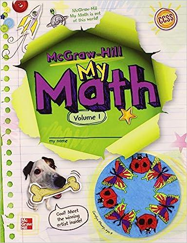 Mcgraw Hill My Math Grade 4 Vol 1 Elementary Math Connects