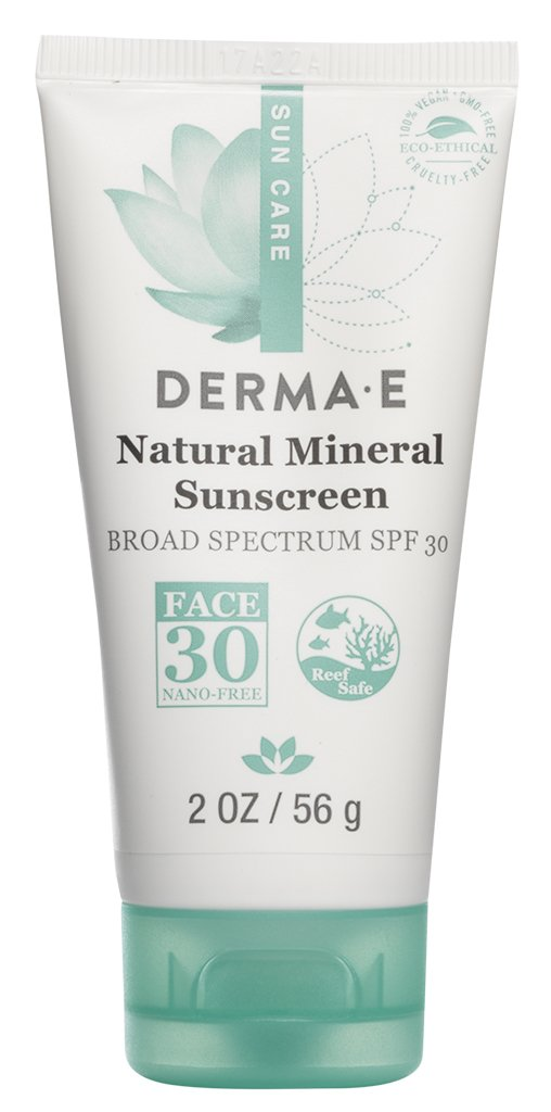 Natural Mineral Sunscreen Broad Spectrum Spf  Oil Free Face