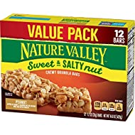 Nature Valley Granola Bars, Sweet and Salty Nut, Peanut, 12 ct, 14.8 oz