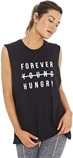 product image for good hYOUman Forever Young Hungry Aguilera Muscle Tank Womens Active Workout Yoga Tank
