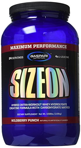 Gaspari Nutrition Size On Maxiumum Performance, Wild Berry Punch, 3.59 Pounds - Gaspari Nutrition Vitamins Supplements