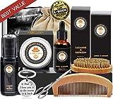 Best Beard Kits - Beard Care Kit Tool Set Grooming Balm Oil Review
