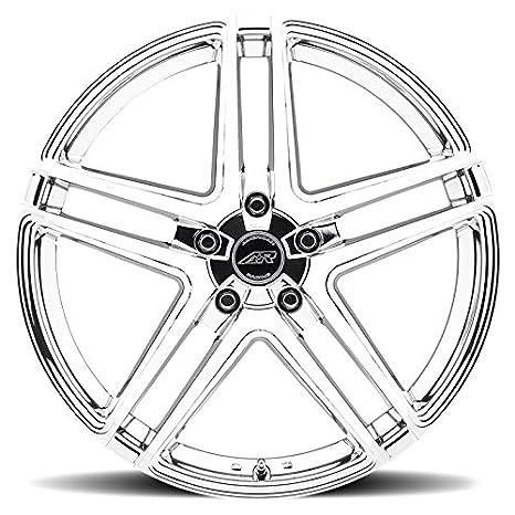 Amazon Com American Racing Ar907 Bright Pvd Wheel 17x7 55x115mm