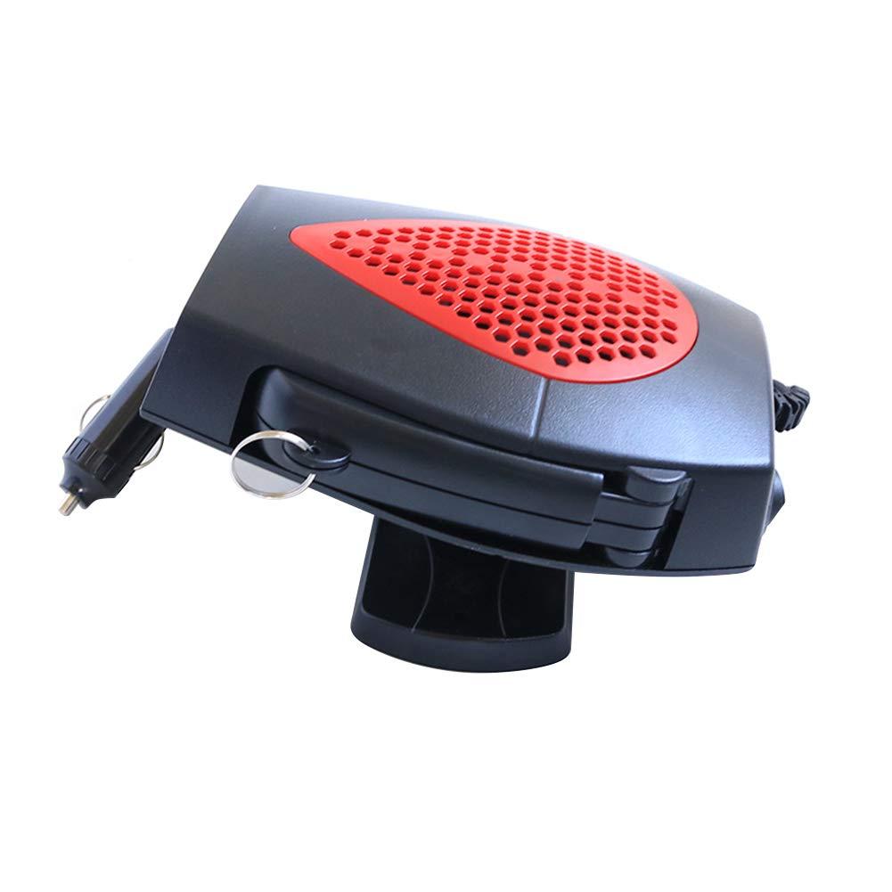 Z-overlord - Sbrinatore per Parabrezza con Ventola, Caldo e Freddo, 300 Watt, con Attacco per Auto da 12 V, piedistallo e Maniglia