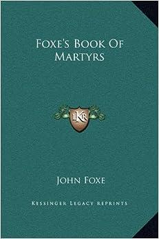 Como Descargar Elitetorrent Foxe's Book Of Martyrs Epub En Kindle