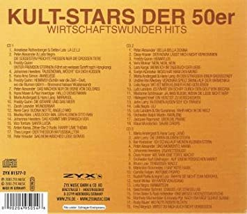 Kultstars Der 50er: Various Artists: Amazon.es: Música
