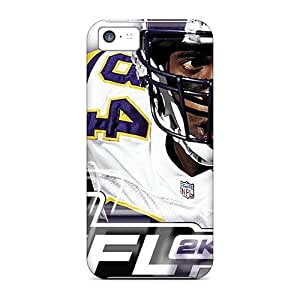 Scratch Resistant Cell-phone Hard Cover For Iphone 5c (lBK10847SmUJ) Allow Personal Design Stylish Oakland Raiders Series
