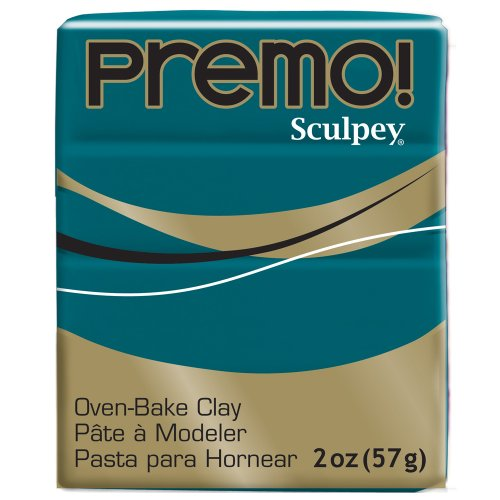 Premo Sculpey Polymer Clay 2 Ounces-Turquoise