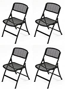Amazon Com Mity Lite Mesh One Folding Guest Chair Black