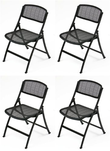 Surprising Amazon Com Mity Lite Mesh One Folding Guest Chair Black 4 Beatyapartments Chair Design Images Beatyapartmentscom