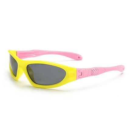 Niños Cool Gafas de Sol polarizadas de protección UV con Caja para niños y niñas de