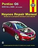 Pontiac G6, 2005-2009 (Haynes Repair Manual)