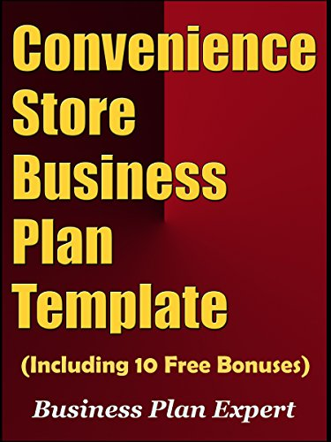 AmazonCom Convenience Store Business Plan Template Including