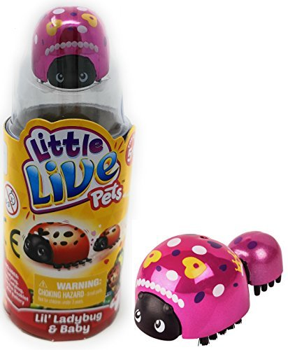 Bunny Costume Bugs Homemade (NEW! Little Live Pets - LIL LADYBUG and BABY Single Pack - Moves and Plays Just Like a Real Ladybug. STYLE)