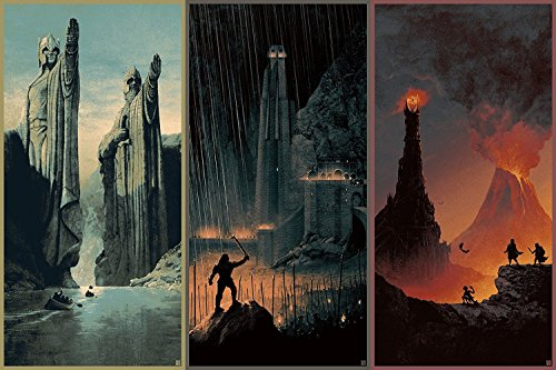 The Lord of the Rings 1 2 3 poster 36 inch x 24 inch / 20 in