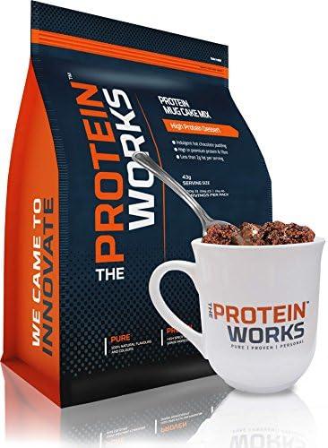 Protein Tassenkuchen / RED VELVET / von THE PROTEIN WORKS / 500g / Dieser köstliche Nachtisch ist sehr protein- und ballaststoffreich,