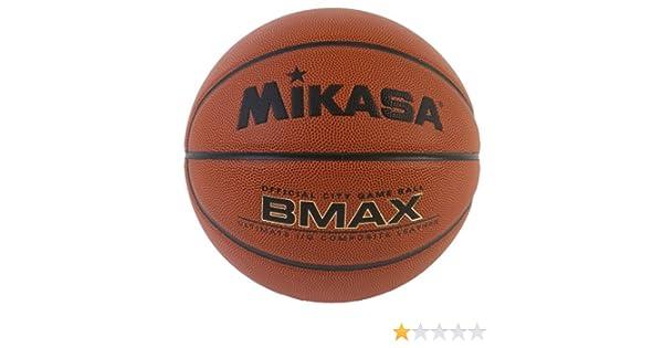 Mikasa BMAX Ultimate - Balón de baloncesto de piel compuesta ...