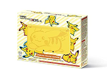 Nintendo New 3DS XL – Pikachu Yellow Edition Discontinued