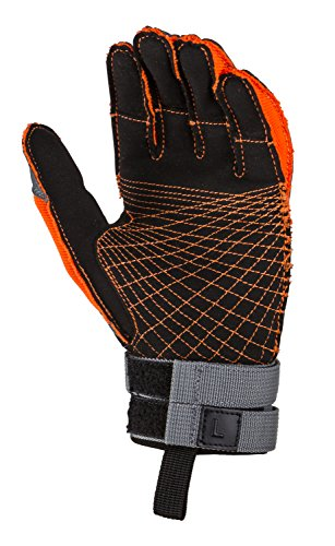Radar The Storm - Inside-Out Glove - Grey / Orange - XL - Radar Xl Lock