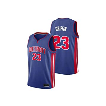 Lvlo Baloncesto Camiseta sin Mangas, Blake Griffin # 23 Detroit ...