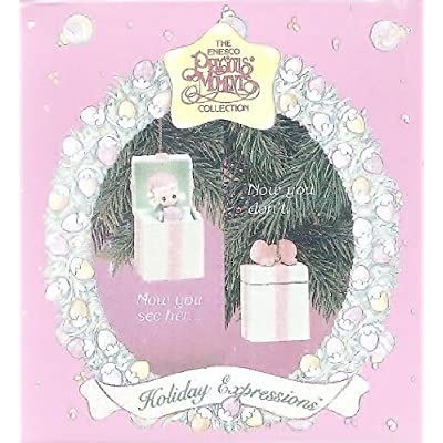 Precious Moments Little Girl Pop-up Christmas Ornament 1993 by Precious Moments : Baby