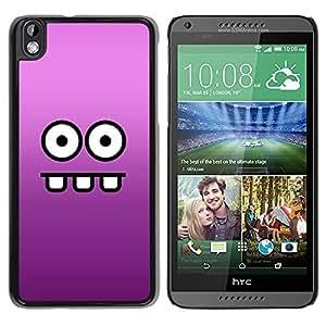 Be Good Phone Accessory // Dura Cáscara cubierta Protectora Caso Carcasa Funda de Protección para HTC DESIRE 816 // Funny Funny Face
