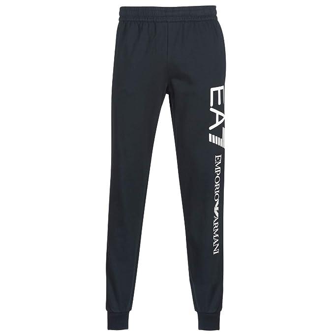 4594adce512e3e EA Pantaloni EA7 Emporio Armani 7 8NPPC3 Felpa Tuta Uomo Elastico Polsino  Blu: Amazon.it: Abbigliamento