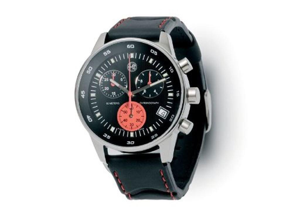 Original Alfa Romeo 5916368 Herren-Armbanduhr mit Chronograph - wasserdicht