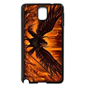 3d satan Samsung Galaxy Note 3 Cell Phone Case Black 53Go-456858