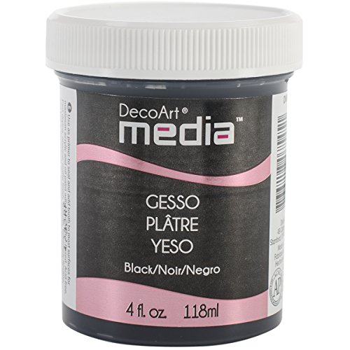 deco-art-media-gesso-4-ounce-black