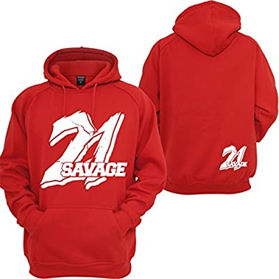 Custom Teez 21 Savage Hoodie Supreme Savage Slaughter Gang I Feel Like Pablo Sweatshirt