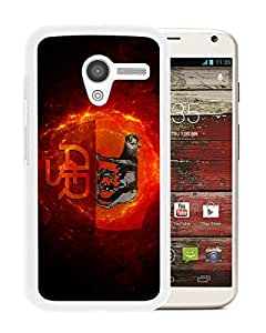 Unique Custom Designed Cover Case For Motorola Moto X With As roma White Phone Case 2
