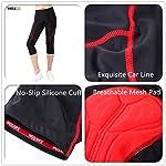 WOSAWE-Maglia-da-Ciclismo-a-Maniche-Corte-e-Pantaloncini-Imbottiti-in-Gel-4D-Abbigliamento-Sportivo-da-Donna-per-MTB-Donna-34-Shorts