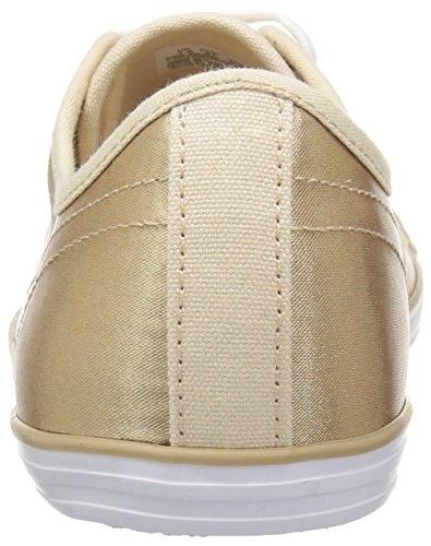 Lacoste Kvinders Ziane Sneakers Guld / Hvid nMOJbENn