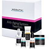 Cheap Anti-aging Kit Twenties – YEOUTH 5 Pack Anti aging Beauty Gift Set – Vitamin C Facial Cleanser – Balancing Toner for Face – Vitamin C & E Serum for Skin – Day Night Snail Cream Moisturizer