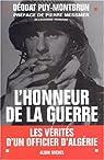 L'honneur de la guerre par du Puy-Montbrun