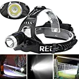 2 In 1 USB T6 LED Rechargeable Headlamp Headlight Travel Head Torch
