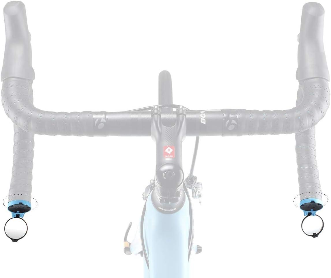 CORKY by THE BEAM Design Fixation Poign/ée de Guidon R/étroviseur pour V/élo de Course A/érodynamique