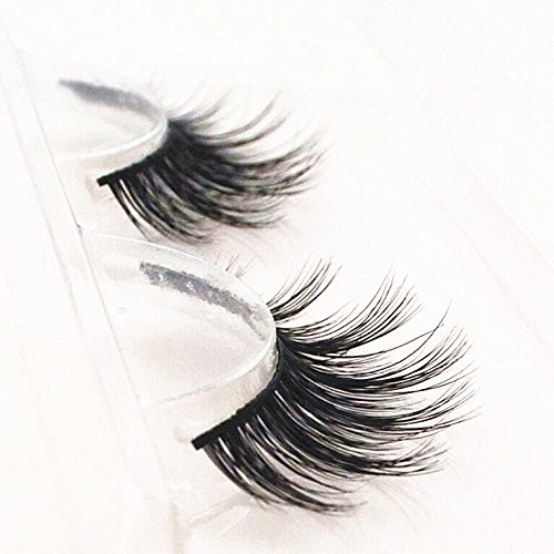 Handmade Luxurious 100% Real Mink Natural Long False Eyelashes Fake Eye Lashes Makeup M-024