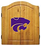 Imperial NCAA Dart Cabinet Set - Kansas State University