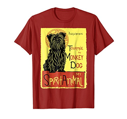 Cute Affenpinscher Shirt I Love My Monkey Dog