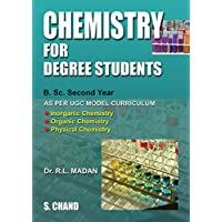 Chemistry for Degree Students (Second Year)