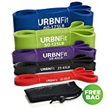 Pull Up Assist Band – Stretch Resistance Band – Mobility Band – Powerlifting Bands – Extra Durable and Top Rated Pull-Up (5 Band Set) Review