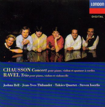 Chausson: Concerto for Piano, Op. 21 / Ravel: Trio for Violin