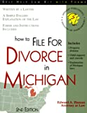 How to File for Divorce in Michigan, Edward A. Haman, 1570714096