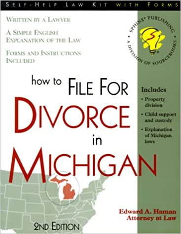 How to file for divorce in michigan with forms self help law kit how to file for divorce in michigan with forms self help law kit with forms edward a haman 9781570714092 amazon books solutioingenieria Image collections