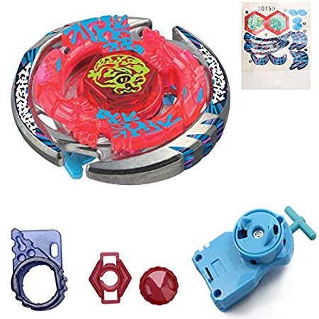 Metal Masters 4D Gyro Battling Tops BB-74 Thermal Lacerta Gyroscope (Gyro+Blue Launcher) Generic
