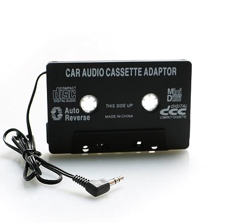 Moutik® Adaptador Universal de Casete para Coche, Reproductor MP3 Coche para Apple iPhone 6