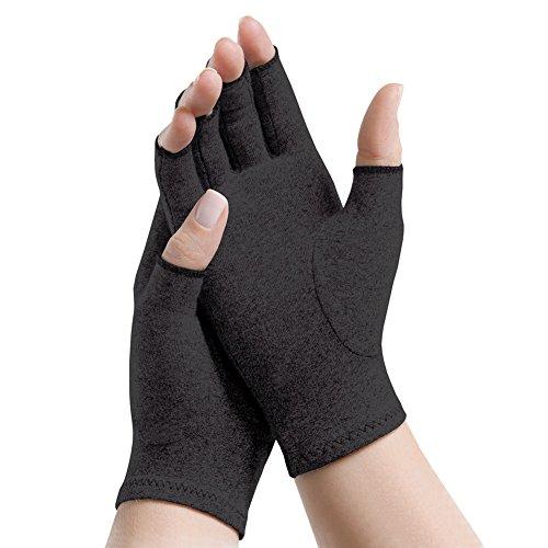 Arthritis Sensitivity Gloves (Open finger Small - fits palm size 6.5-8)