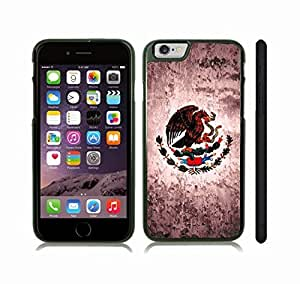 iStar Cases? iPhone 6 Plus Case with Mexico Flag Design , Snap-on Cover, Hard Carrying Case (Black)